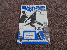 Bristol Rovers v Southport, 1968/69